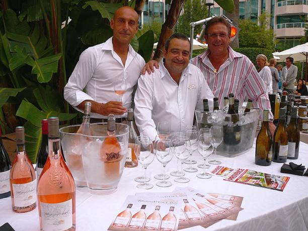 Nice les professionnels du vin en salon paris c te d 39 azur for Salon du vin nice