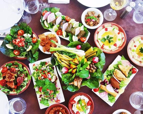 Mougins le liban invit la maison rouge paris for A la maison personal chef service
